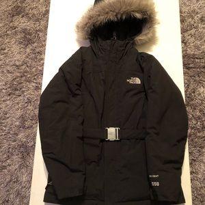 North Face Hyvent Jacket w/ Fur Hood